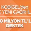 KOSGEB'TEN KOBİLERE 300 MİLYON TL DESTEK
