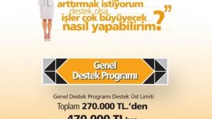 KOSGEB GENEL DESTEK PROGRAMI LİMİTLERİ ARTTIRILDI!