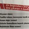 En Beğenilen CEO'yu Öne Çıkaran 5 Özellik